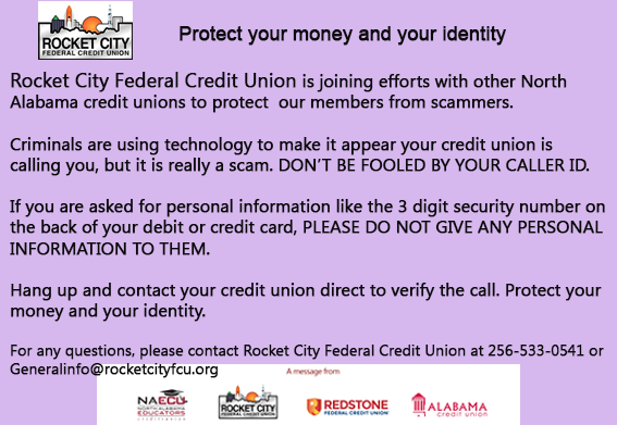 Protect your money banner
