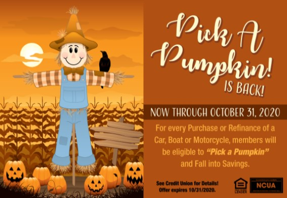 pick up a pumpkin